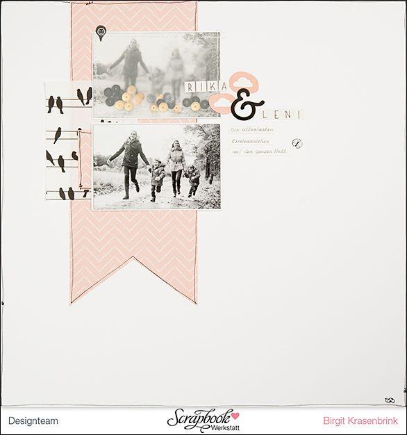 """Designteamarbeit für die Scrapbook-Werkstatt - mit der Serie """"Jen Hadfield Homemade"""" von Pebbles Inc.; von Birgit K. {SCRAP´inFeACTed}"""