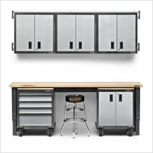 10 Piece Premier Garage Cabinet Set