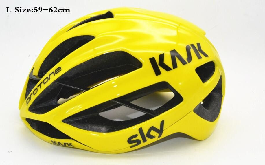 280g Kask Protone Bicycle Cycling Helmet 16 Colors Road bike caschi Adults Bicycle Helmet Ciclismo EPS L And M Casco Bicicleta