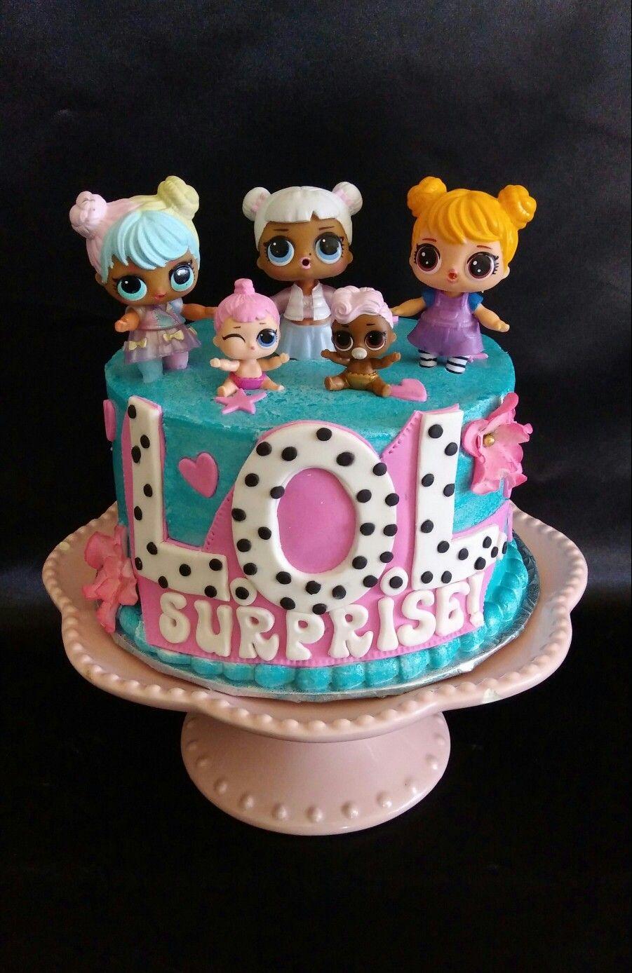 L O L Surprise Cake Tortas Tem 225 Ticas Tortas De