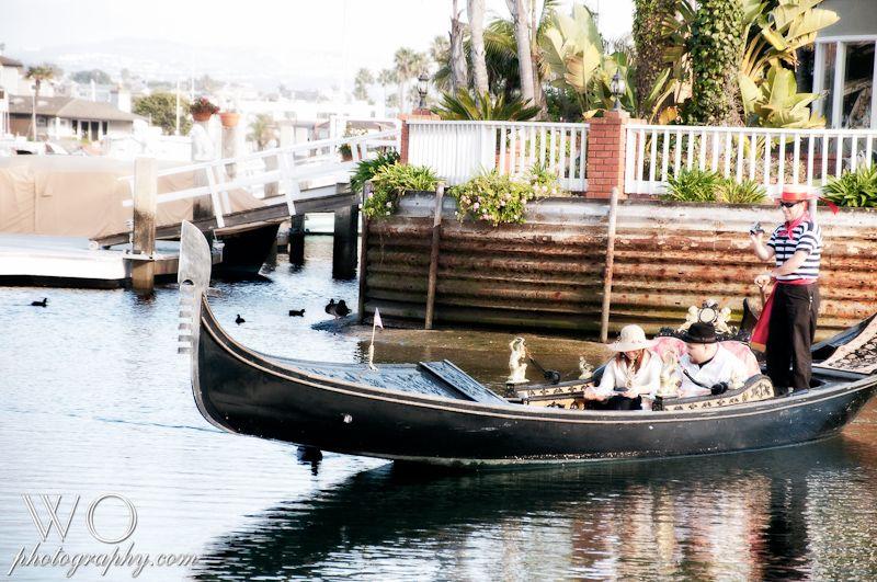 Proposal On A Gondola In Newport Beach