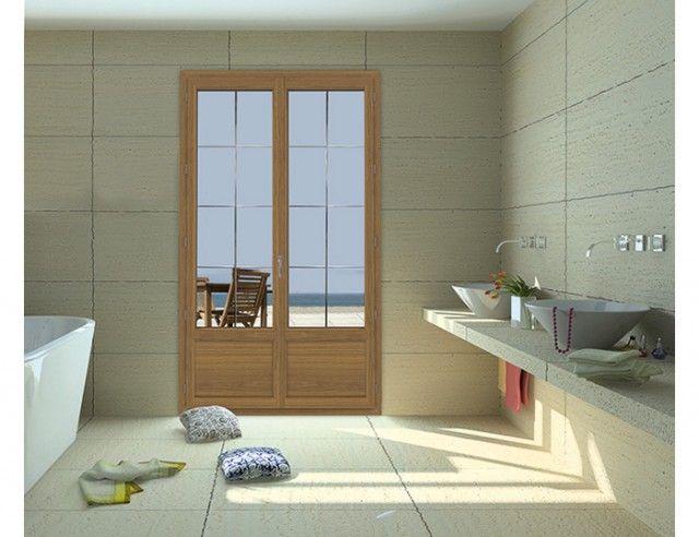 porte fenêtre pvc evoluence classic et style