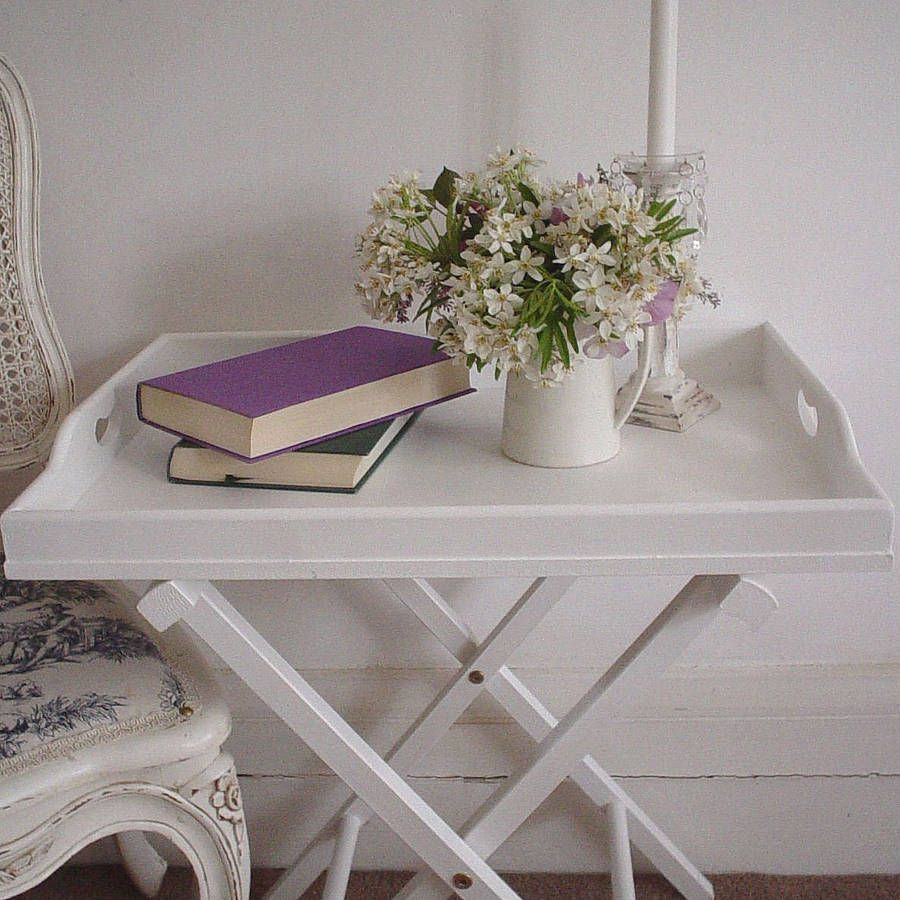 Butleru0027s Tray And Stand   Really Love The Elegant And Simple Design.  Excellent For A