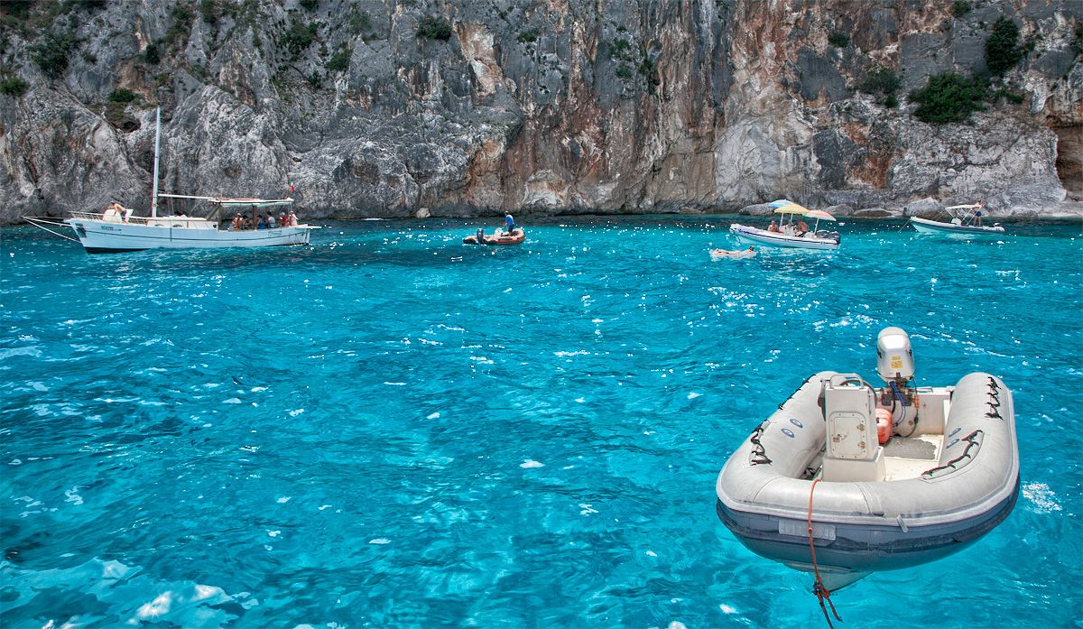 Swimming pools of Venus (OgliastraSardegna) Sardinia
