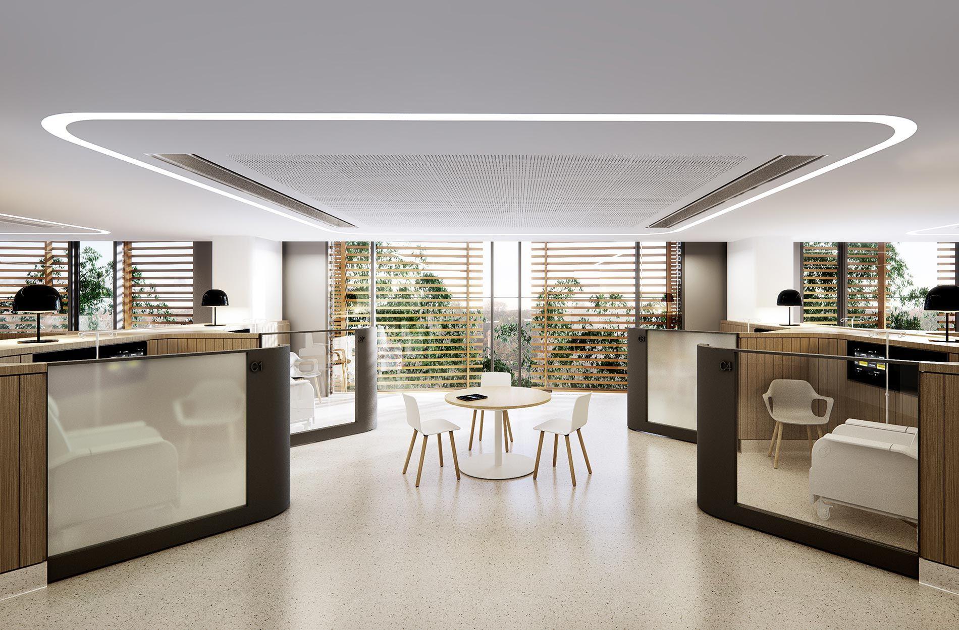 New Clinical Building Cabrini Hospital Bates Smart