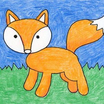 all kinds of drawing tutorials from art projects for kids - Simple Drawing For Children