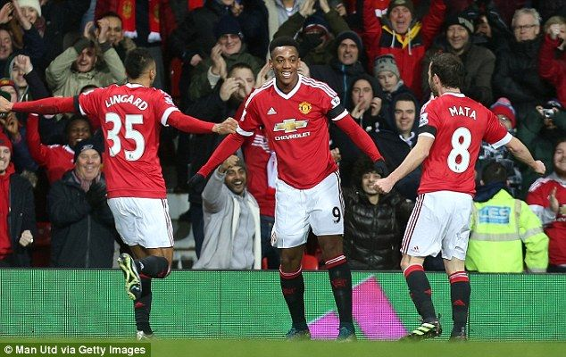 5084ab911d4 Manchester United 3-0 Stoke PLAYER RATINGS  Anthony Martial steals the show  as lightweight Bojan Krkic is hooked off