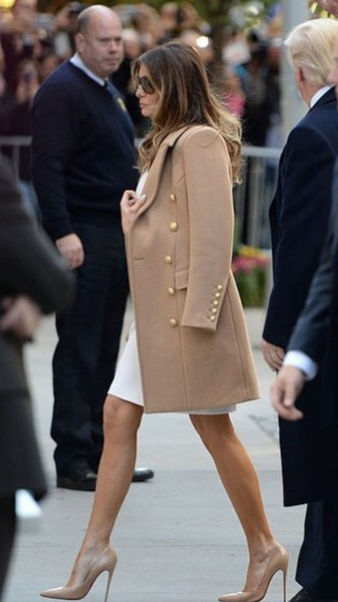 Melania Trump Icons In 2018 Pinterest Fashion First Lady Jfashion Korean Style Double Layer Blouse Ivanka Dress