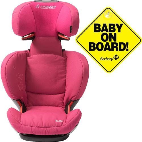 Maxi Cosi Rodi Ap Airprotect Booster Car Seats W Baby On Board Sign Origami Rose Booster Car Seat Car Seats Origami Rose