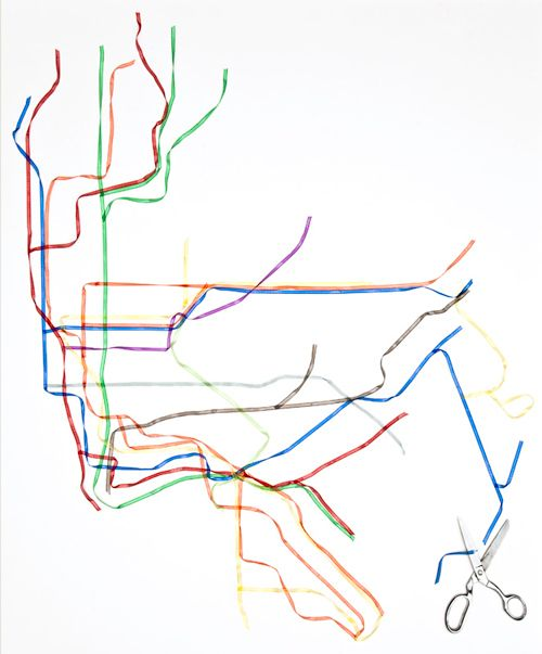 City Subway Map Art.Rose Colored New York City Subway Map In Ribbon Justenoughsalt