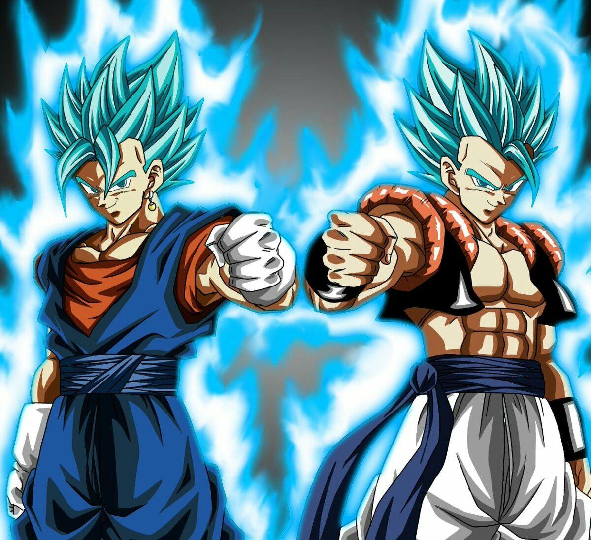 Vegetto & Gogeta SSJ Blue | Vegetto y gogeta, Personajes de goku,  Personajes de dragon ball