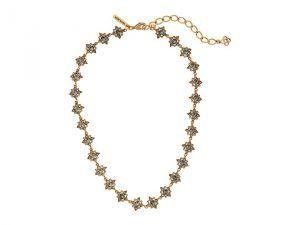 Oscar De La Renta Delicate Star Necklace XDs78