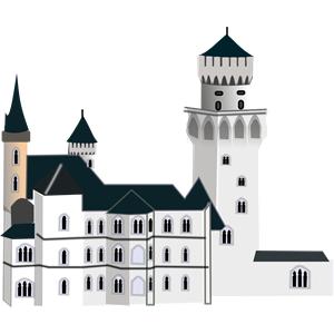Free Svg Svg317 Neuschwanstein Castle Castle Clipart Castle Vector