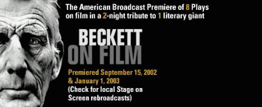Stage On Screen Beckett On Film Film Screen Short Play