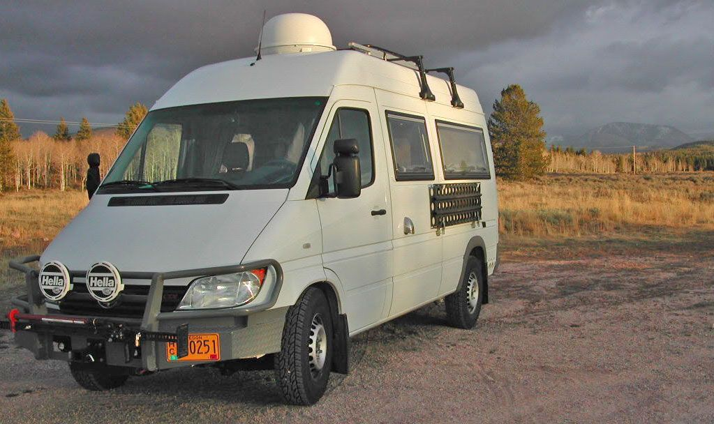 On Safari In A Sprinter Expedition Camper Sprinter Rv Sprinter Sprinter Camper Conversion