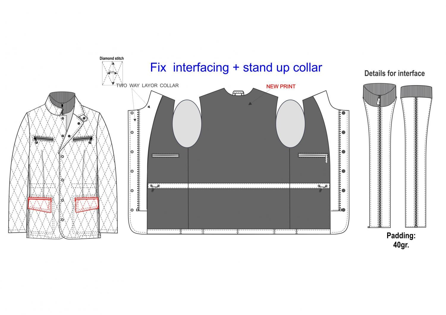 Custom Pattern Drafting from BOOTSTRAPFASHION an online