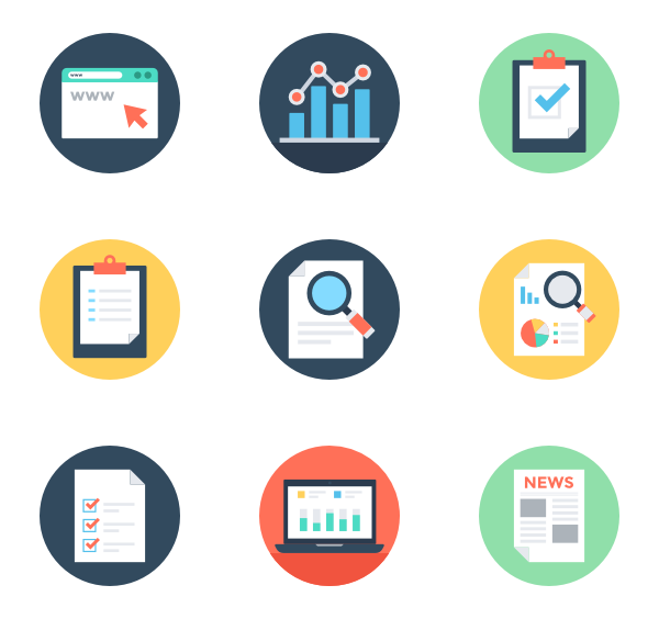 Reports And Analytics Icon Pack Web Design Tools Computer Icon Business Icon
