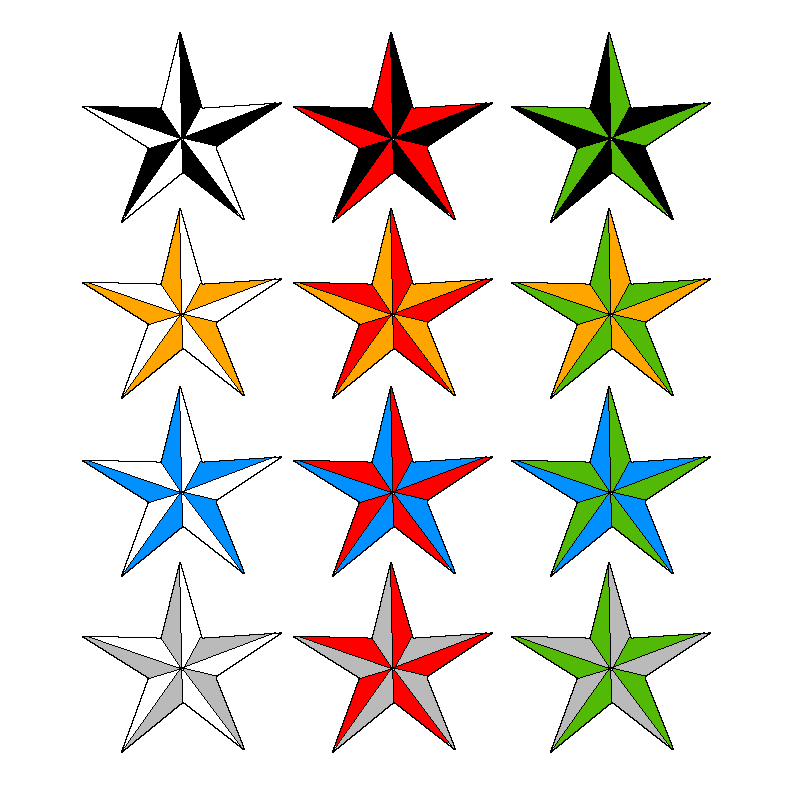 Image detail for -Nautical Stars by fluximal «STARS «Flash tatto ...