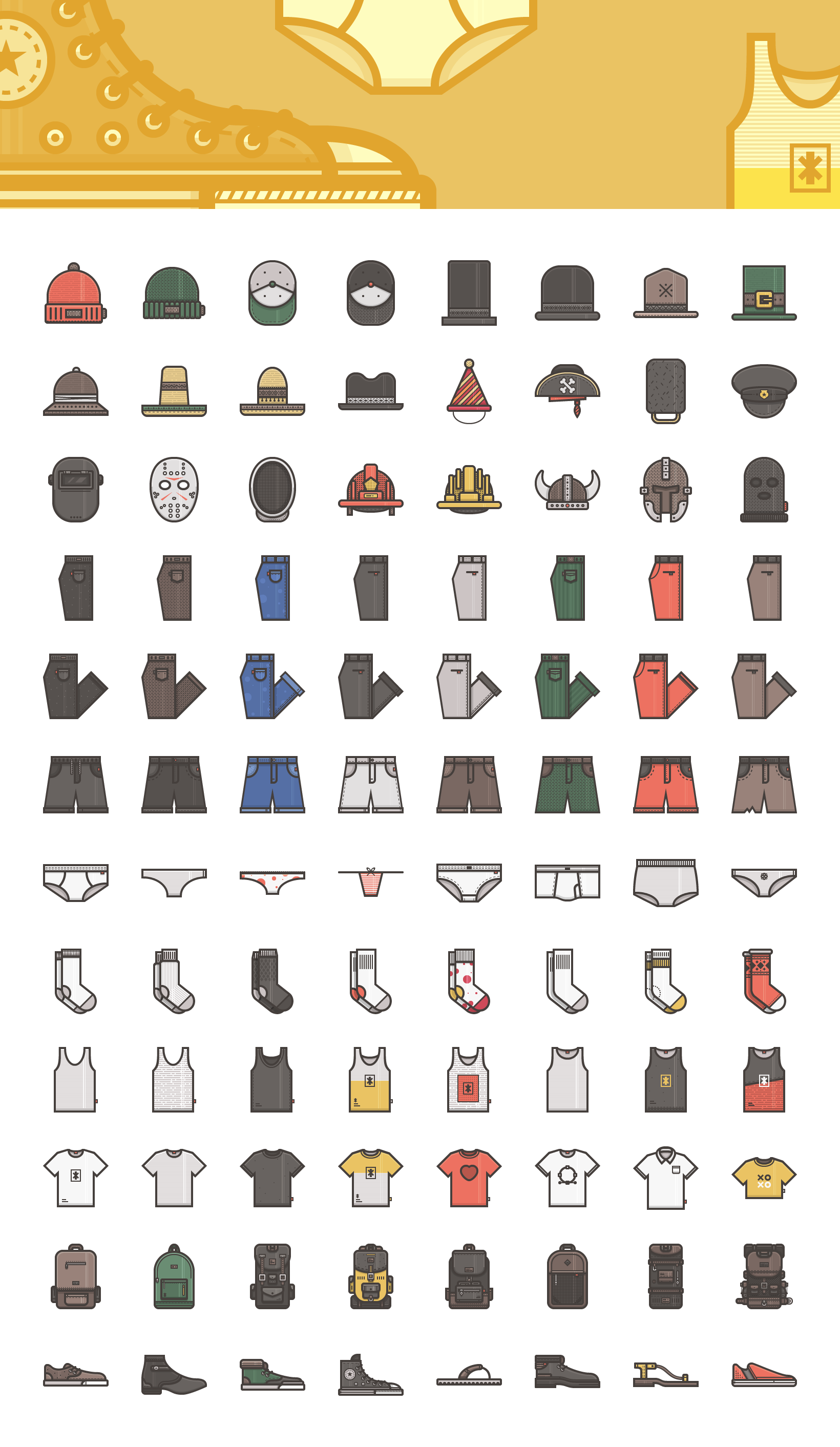 Illustricons 500+ Vector Icons (AI, EPS, SVG, PNG Icon
