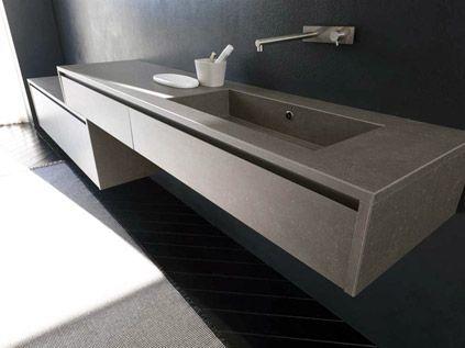 Kama Badezimmermöbel ~ Kerlite laminated to this bathroom vanity for the home pinterest