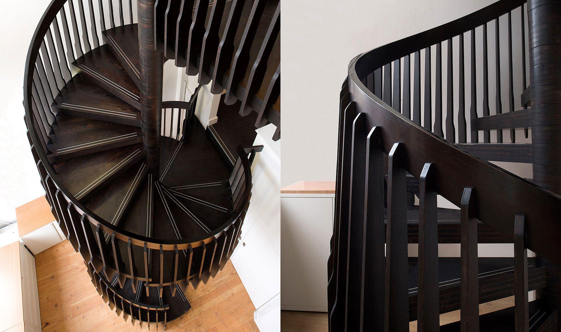 Best Luxury Spiral Staircase Design Interlocking Spiral 400 x 300
