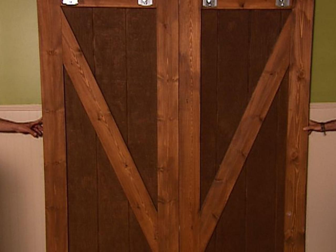How To Make Barn Door Style Blackout Shutters Making Barn Doors