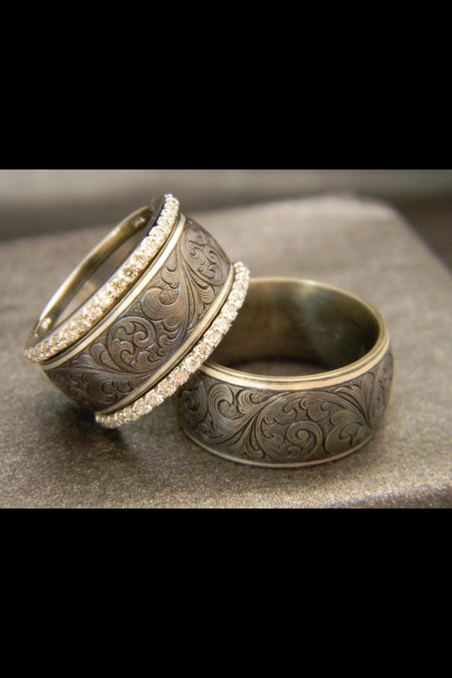 Love This Ring For Nick Western Wedding Rings Western