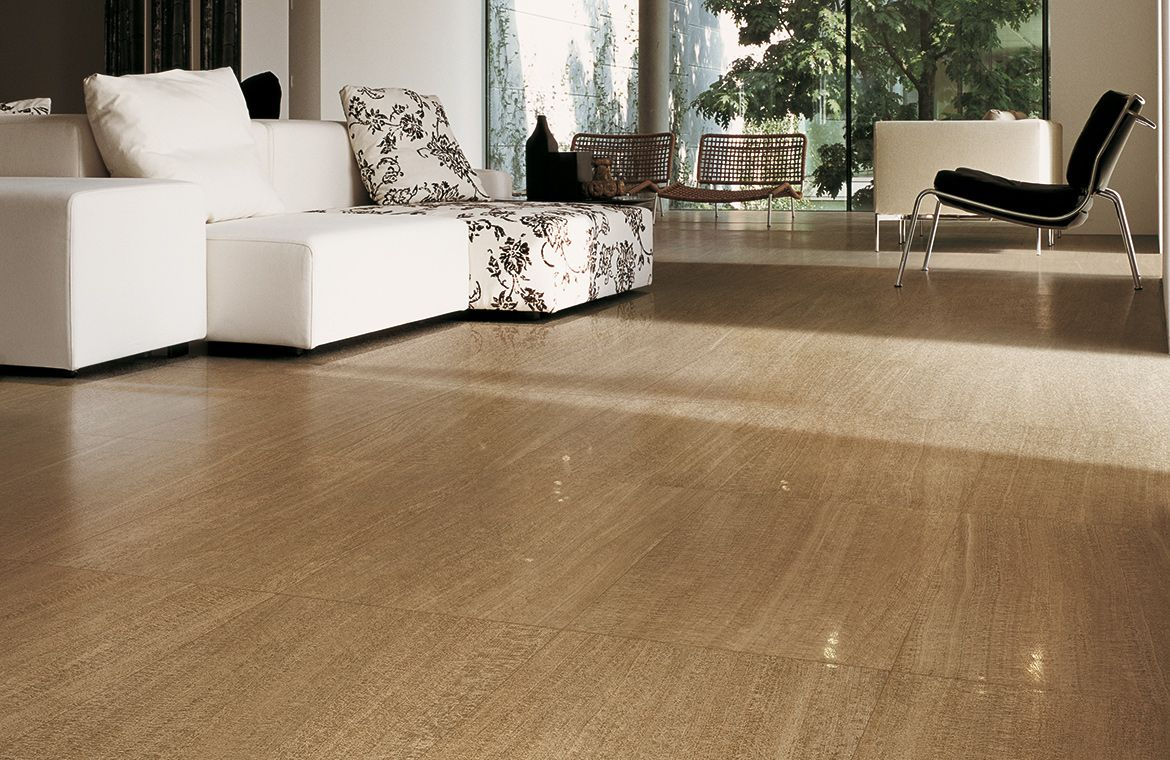Provenza Q Stone Travertine Look Porcelain Tile will provide the look you  want with the durability