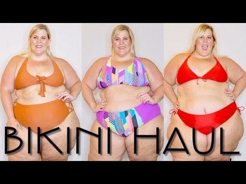 af83b2eaf5443 2017 Plus Size Swimwear Haul + Try On - YouTube