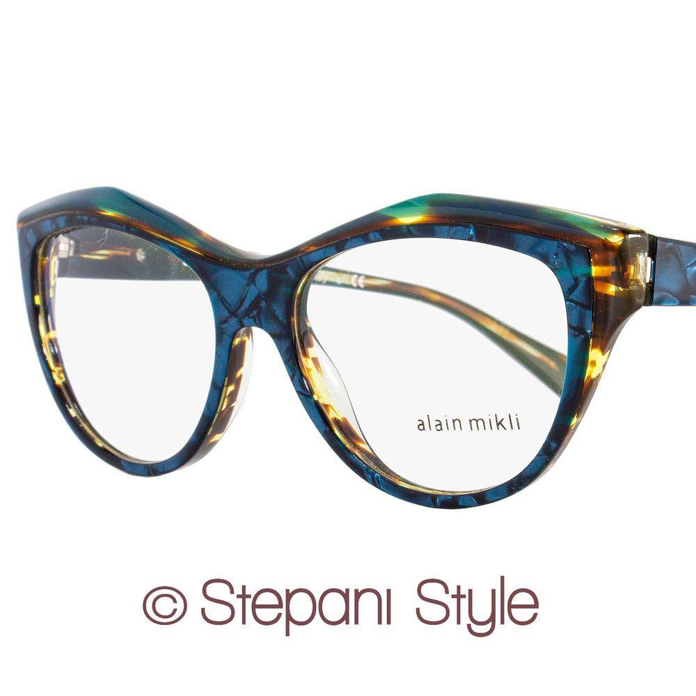 Alain Mikli Butterfly Eyeglasses A03041 C004 Size: 52mm Acqua ...
