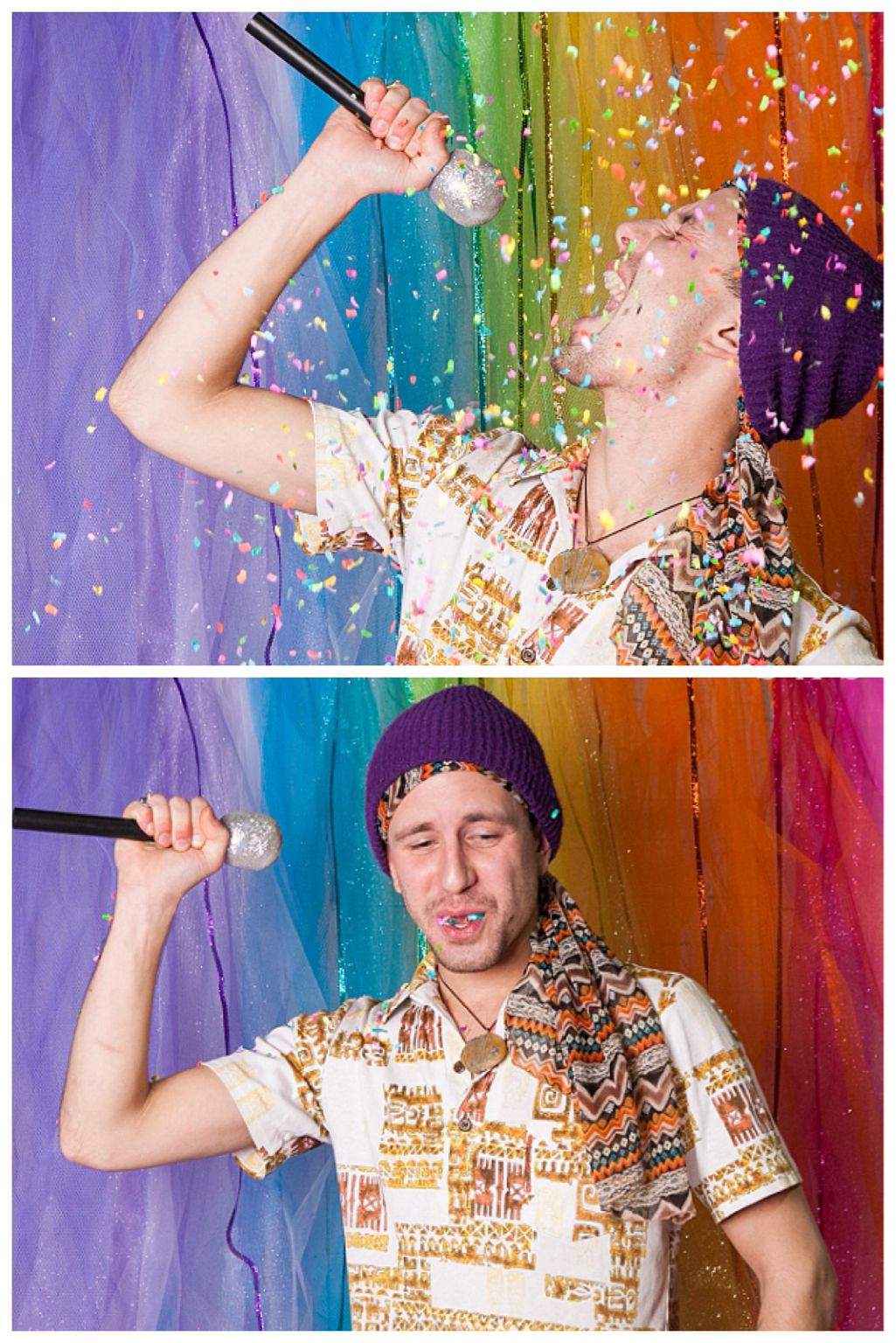 Sassy Confetti Sprinkles Photobooth Unicorn Edition Pictures