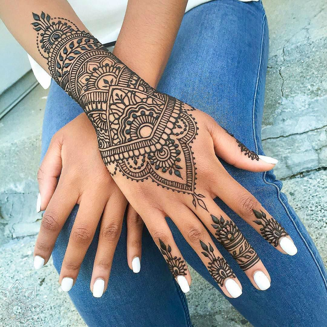 Mehndi Hand Outline : Henna tattoos by rachel goldman you must see hennas