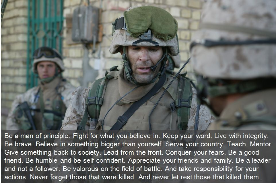 Douglas Zembiec - Lion of Fallujah | Quotes | Pinterest | Marine ...