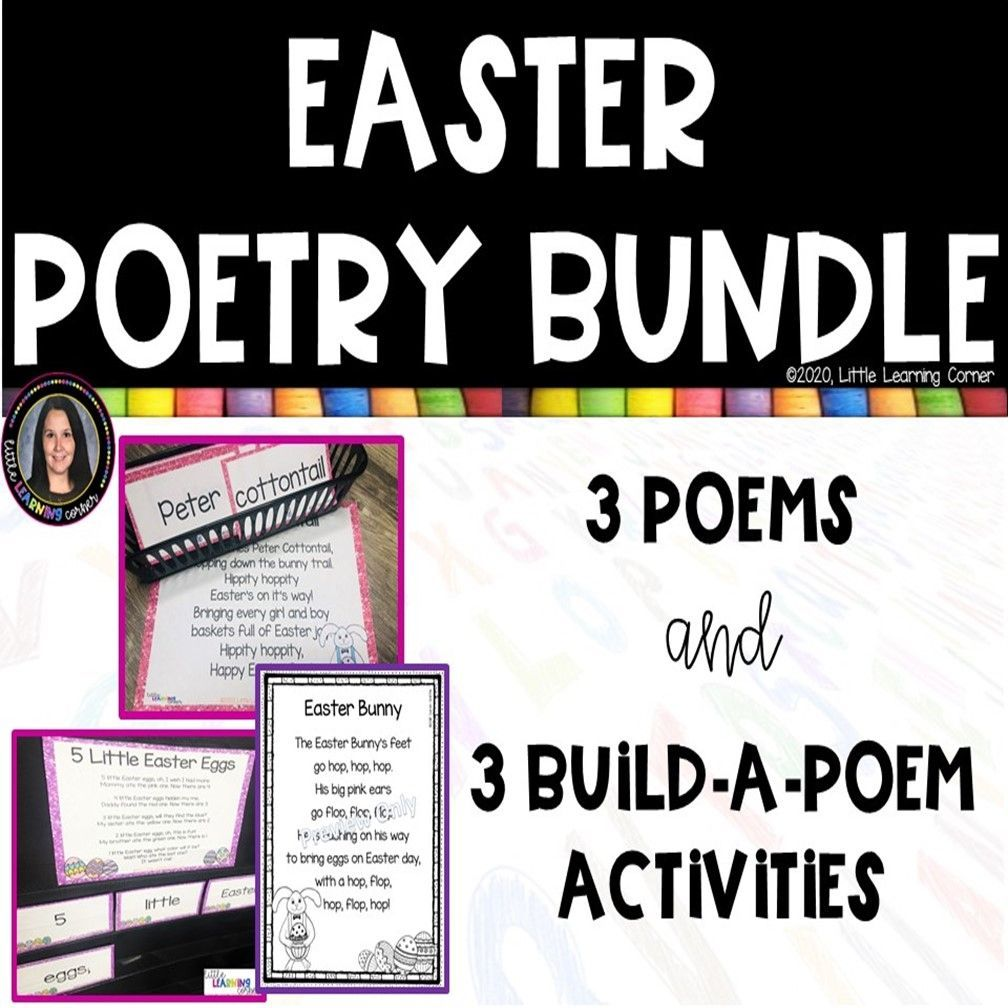 3 fun easter poems for kids in 2021 easter poems poems