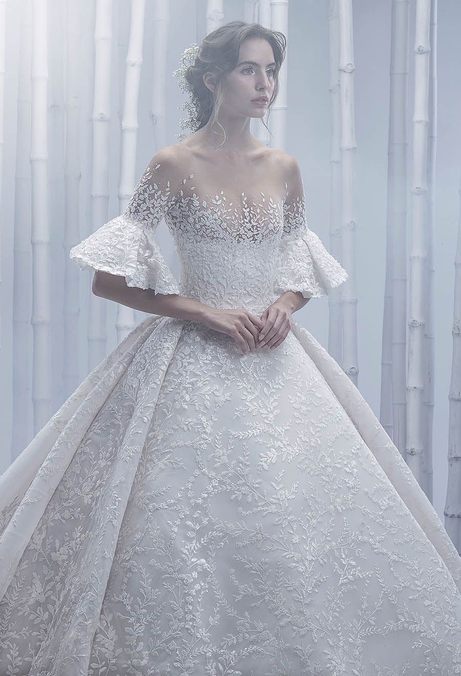 Michael Cinco\u0027s Spring Summer 2019 Bridal Gowns Are Perfect