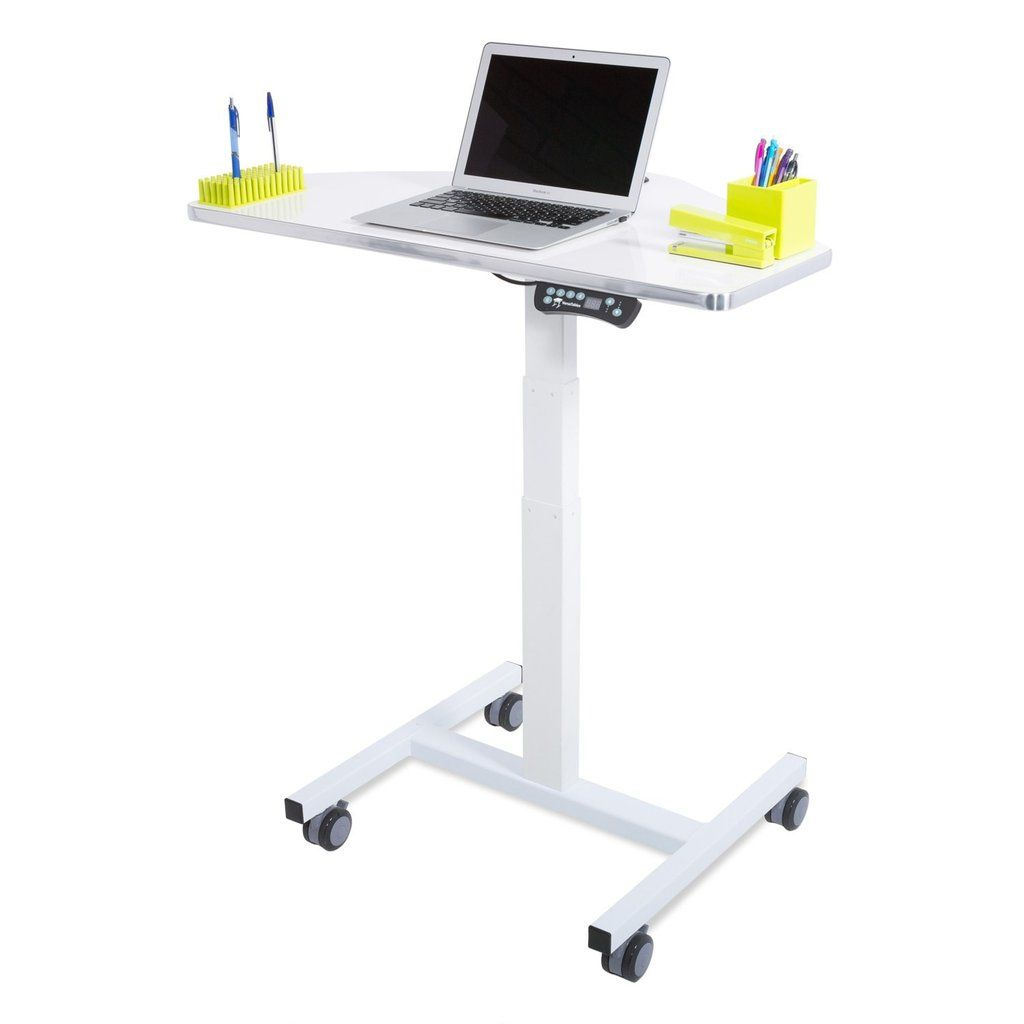 Sit To Stand Computer Cart ELECTRIC SIT-TO-STAND This
