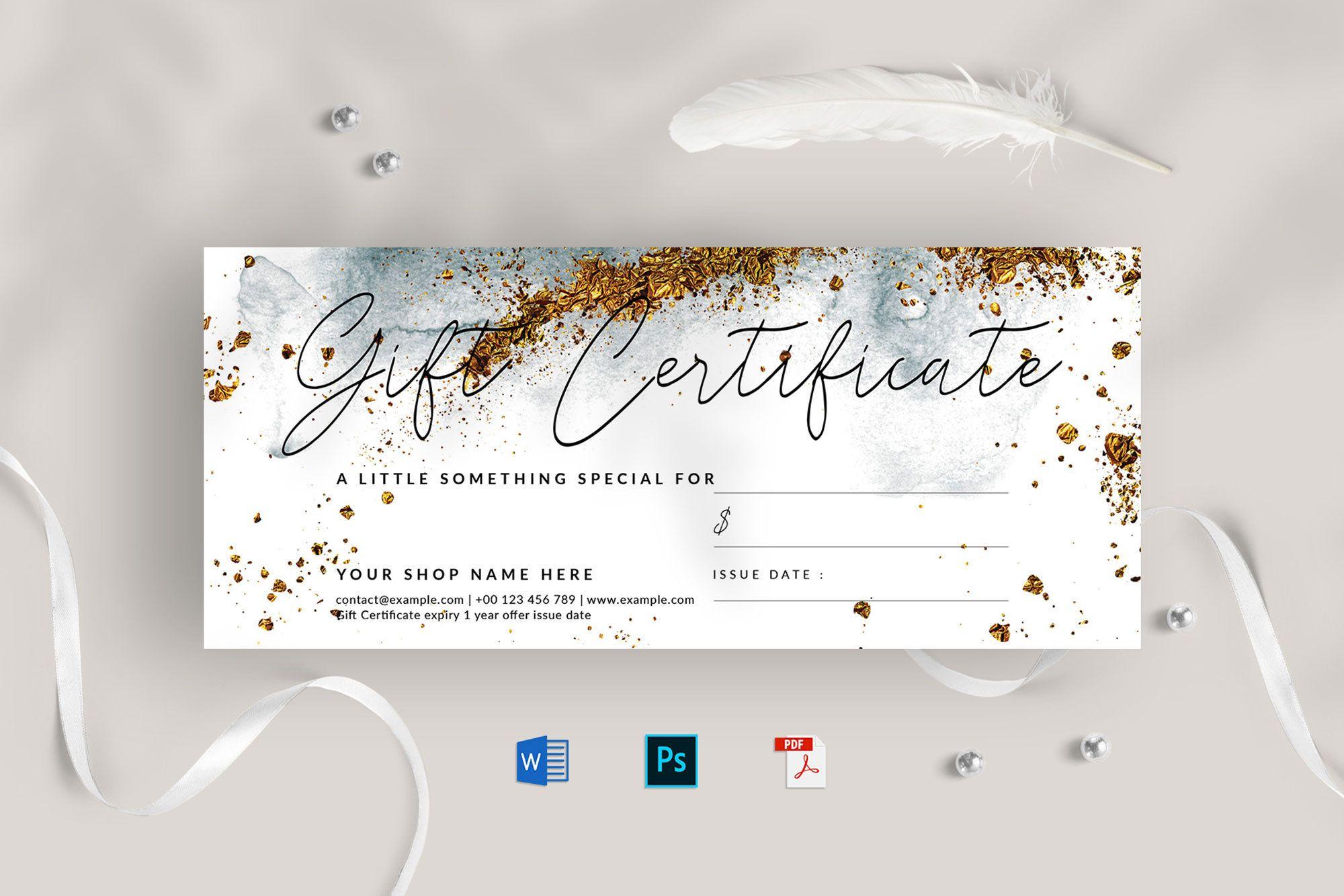 Gift Certificate Template Gift Voucher Template Modern Gift Voucher Special Offer Card Disco Gift Certificate Template Gift Card Template Gift Certificates