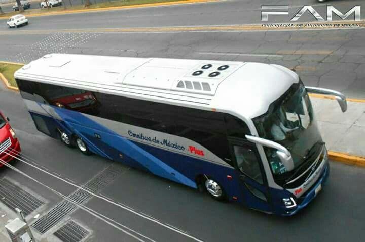 Volvo 9800 ómnibus de México plus