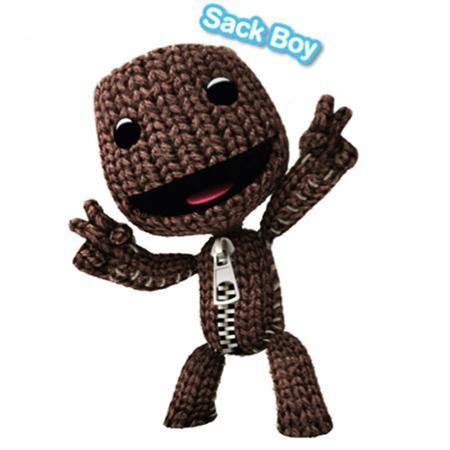 Funko POP Games Little Big Planet Sack Boy Action Figure Free Shipping