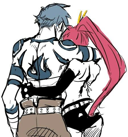 Yoko x Kamina | art | Pinterest | Gurren lagann, Anime and ...