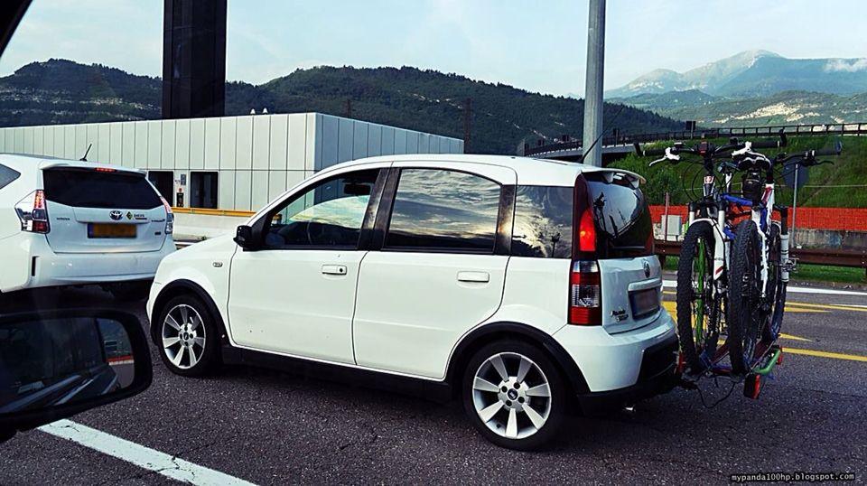Fiat Panda 100hp Araba