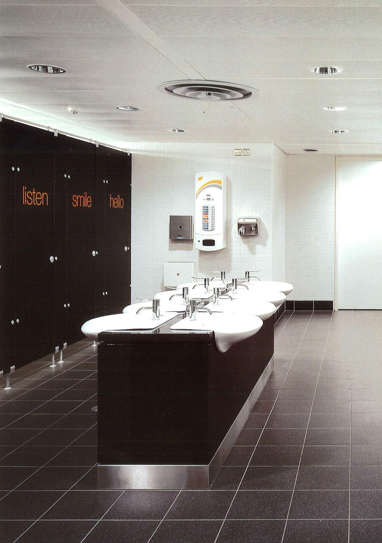 Fun bathroom from the book, Public Toilet Design by Cristina del ...