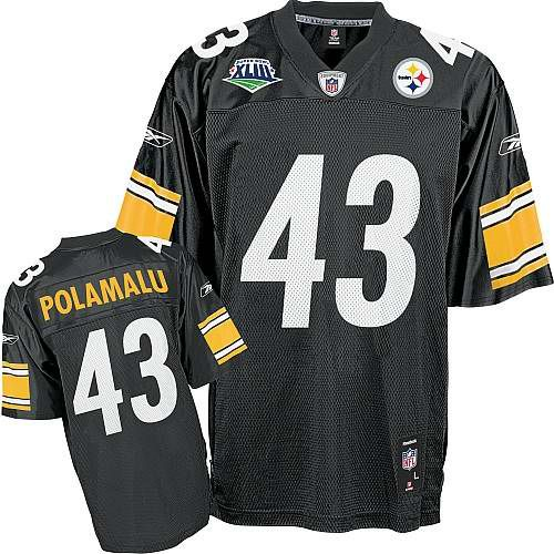 best authentic 3d8c6 4858f Troy Polamalu Jersey, Reebok Super Bowl XLIII #43 Pittsburgh ...