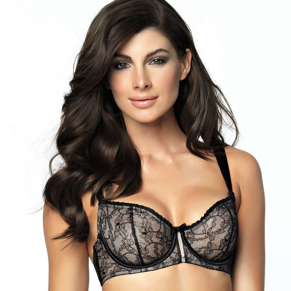 c734a4912d Paramour by Felina Bra  Decadent Full-Coverage Lace Unlined Demi Bra  115004