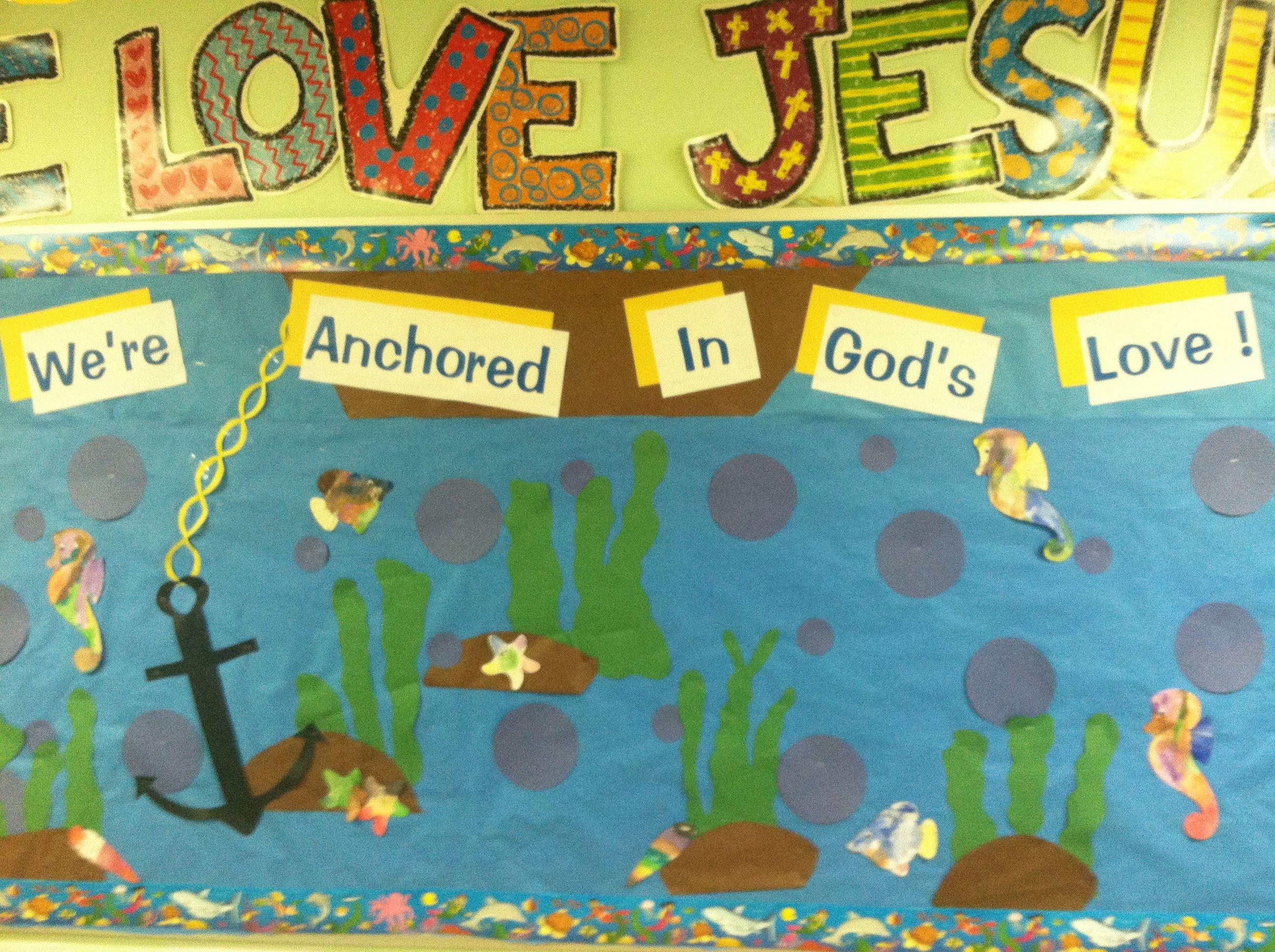 Under The Sea Bulletin Board By The Wonderful Mrs Kiesha
