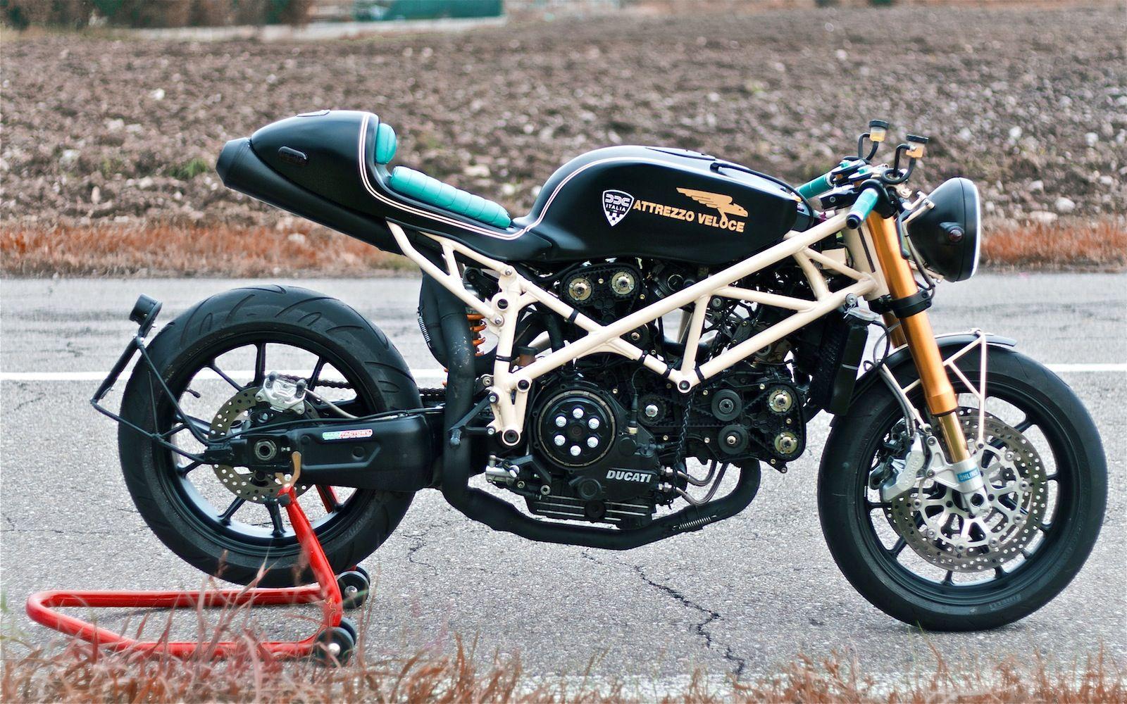 Readers Rides 749 Attrezzo Veloce Inazuma Café Racer Ducati Cafe Racer Ducati Cafe Racer Kits