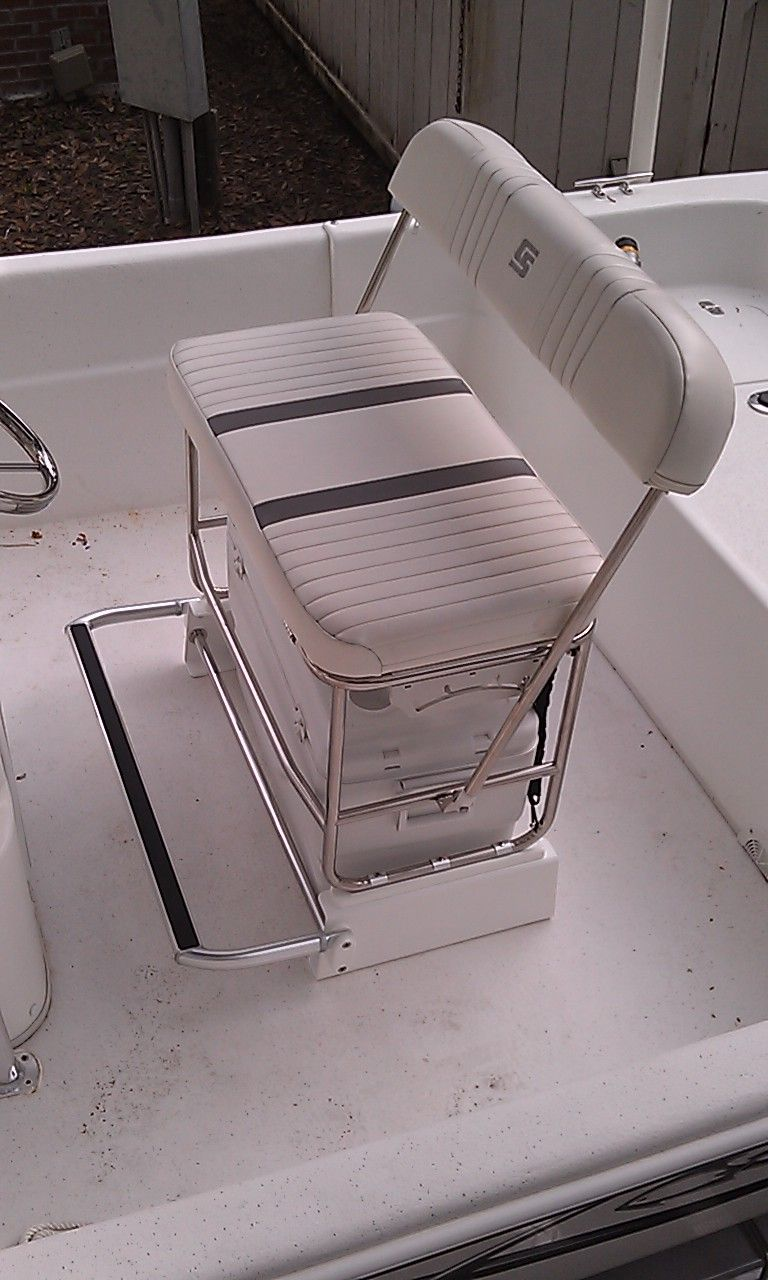 Astounding Carolina Skiff Cooler Seat Kit For Stainless Swingback Seat Onthecornerstone Fun Painted Chair Ideas Images Onthecornerstoneorg