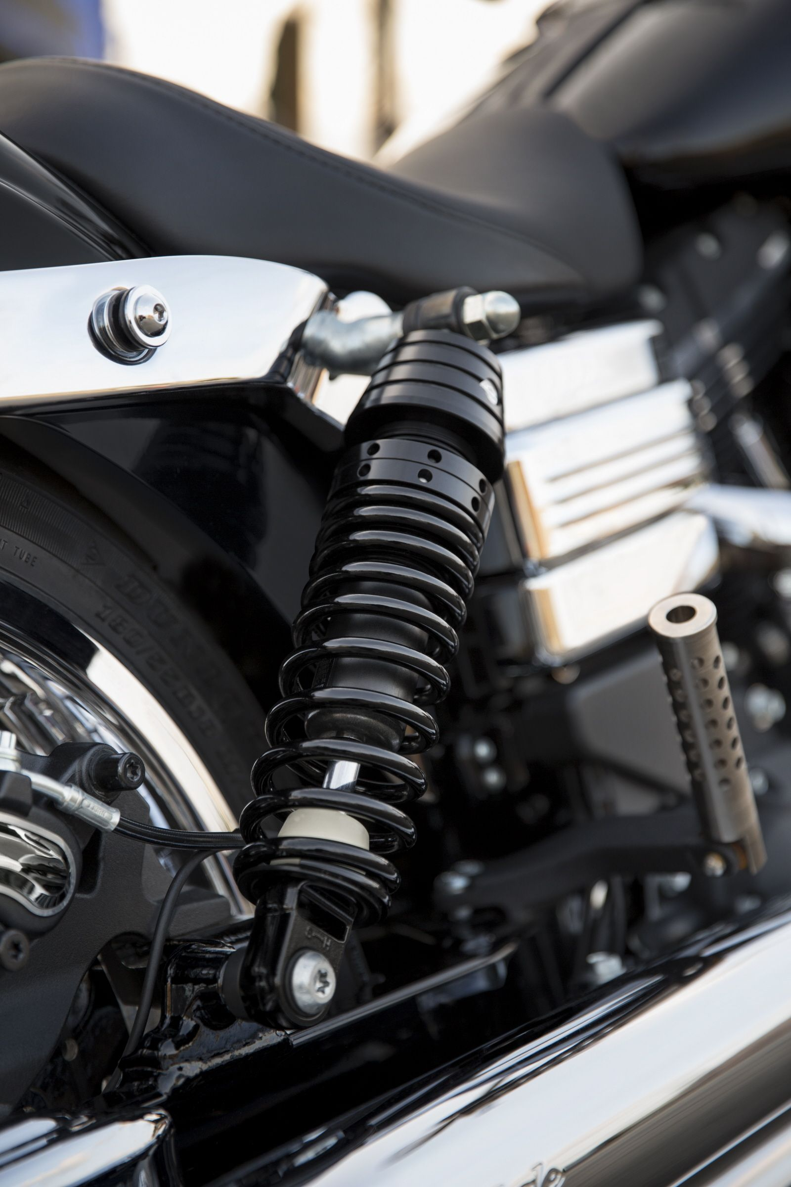 Experience a comfortable and confidence-inspiring ride – no matter the  pavement conditions. | Harley-Davidson Premium Ride Emulsion Shocks