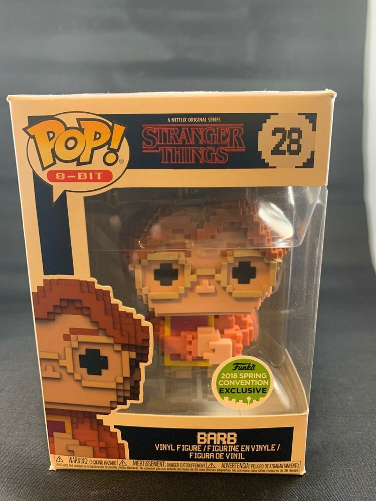 Stranger Things Vinyl 2018 Spring Convention Exclusive Barb 8-Bit Pop