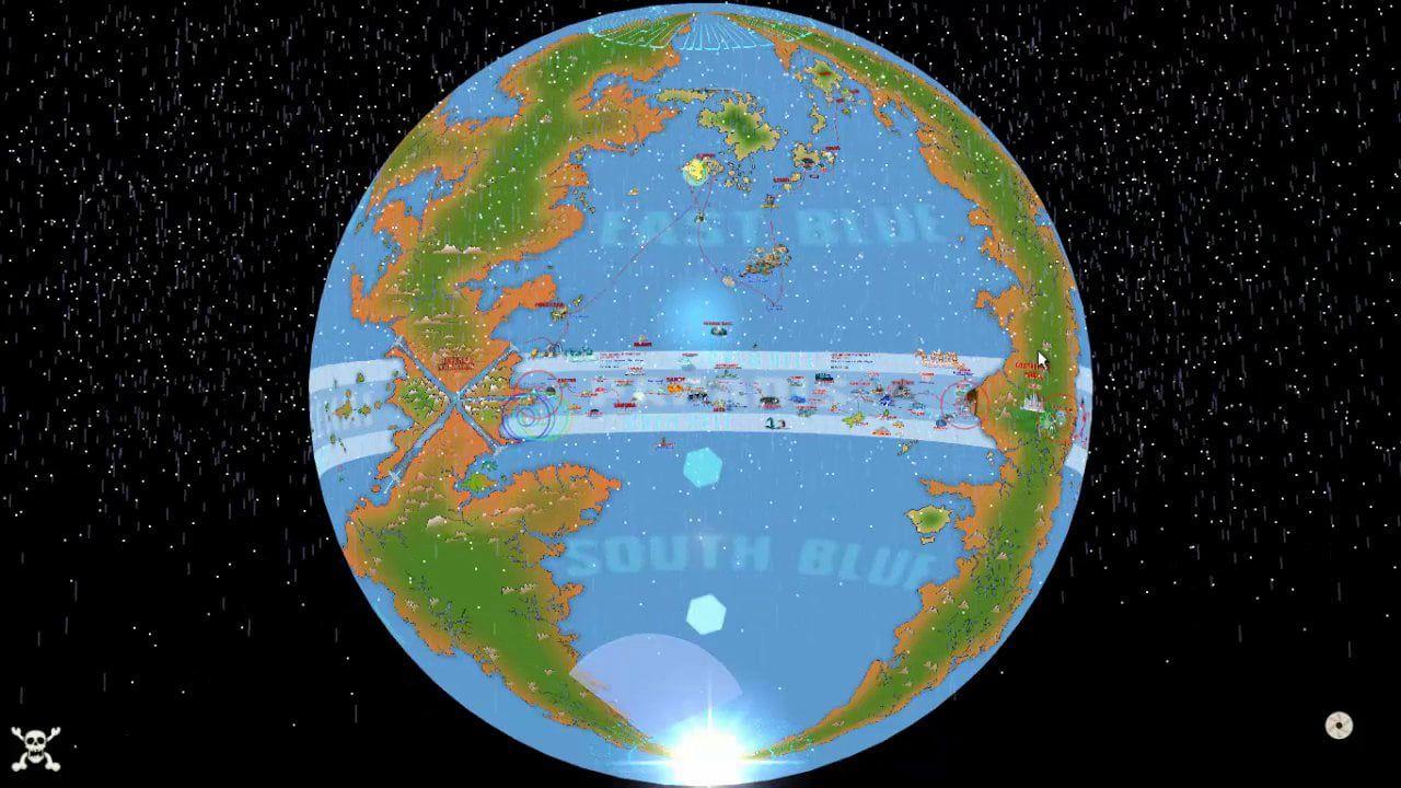 Globe One Piece New World Map Interactive Virtual Tour Shin Sekai